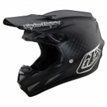 Troy Lee Designs SE4 Carbon Midnight Helmet with Mips (Sm) [Warehouse Deal]