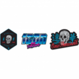 Icon One Thousand Retroskull Stickers