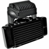 Jagg Horizontal Low-Mount 10 Row Fan-Assisted Oil Cooler Kit