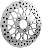 Bikers Choice Mesh Style Polished Brake Rotor