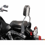 Mc Enterprises Standard Sissy Bar with Studded Pad