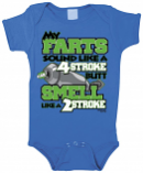 Smooth MX 4 Stroke Infant Rompers