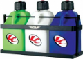Fly Racing 3 Jug Fuel Rack