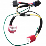 Signal Dynamics Dual H4 Wiring Harness Kit for Plug-and-Play Diamond Star Headlight Modulator