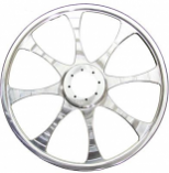 TKI 8-Spoke Billet Wheel - 9in.