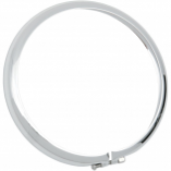 Drag Specialties Optional/Replacement Chrome Trim Ring for 5 3/4in. Headlight Assembly