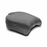 Mustang Wide Touring Passenger Seat with Backrest Receiver