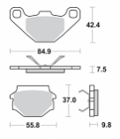 Sbs RS Sintered Brake Pads