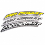 Pro Circuit .Com Fender Stickers