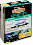 Steadymate Cinchtite 5 Tie-Downs w/ Military Snap Hooks and Built-In Soft Loops