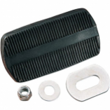 Drag Specialties Brake/Clutch Pedal Pad Assembly