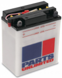 Parts Unlimited 12V Heavy-Duty Battery