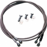 Lone Star Racing Stainless Braided Brake Line