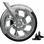 RC Components Front Fender Kit for 23in. Wheel