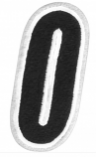 American Kargo Number Patches