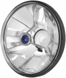 Adjure 5 3/4in. Pie Cut Trillient Headlight with Blue Dot