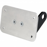 Gasbox Axle Mount License Plate Bracket