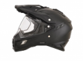AFX FX-41DS Solid Helmet with Dual Lens Shield