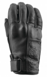 Speed & Strength Black Heart Womens Leather Gloves