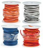 Novello Factory Color Coded Wire Spool