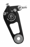 Performance Machine Front Two Piston Classic Caliper and Bracket