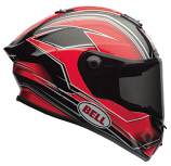 Bell Race Star Triton Helmet (Triton Red / Lg) [Less Than Perfect]