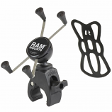 Ram Mounts RAM Tough Claw Mount with Universal X-Grip Large Phone Cradle