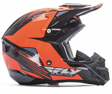 Fly Racing Kinetic Pro Graphics Cold Weather Helmet