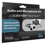 Cardo Systems Scala Rider Pack Talk Audio and Micrphone Kit