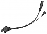 Sena Earbud Adapter Split Cable for 10C Motorcycle Bluetooth Camera and Communicaton System