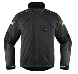 Icon Raiden DKR Monochromatic Waterproof Jacket