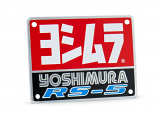 Yoshimura Replacement Name Plate for RS-5 Exhaust