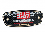 Yoshimura Nameplate Badge for R-77 Mufflers