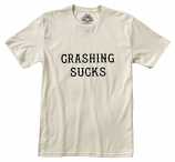 Roland Sands Design Crashing Sucks T-Shirt