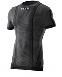 SIXS Short-Sleeve Round Neck Jersey Carbon Underwear