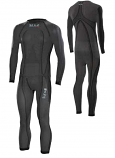 SIXS One-Piece Undersuit Carbon Underwear