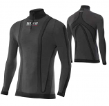 SIXS Long-Sleeve Turtleneck Jersey with Zipper Thermo Carbon Underwear