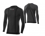 SIXS Long-Sleeve Round Neck Youth Jersey Carbon Underwear