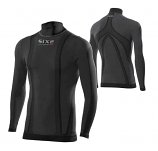 SIXS Long-Sleeve Turtleneck Youth Jersey Carbon Underwear