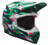 Bell Moto-9 Flex McGrath Replica Helmets