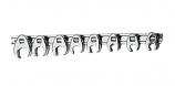 Performance Tools 3/8in. Drive SAE Crow Foot Wrench Set