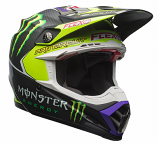 Bell Moto-9 Flex Monster Pro Circuit 17 Helmets