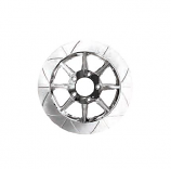 Lyndall Racing Brakes Fly Cut Rear High Carbon Steel Phoenix Rotors