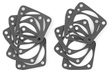 Twin Power Lifter Block Front Tappet Guide Gaskets