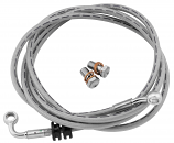 Goodridge Clear-Coated Chieftain Brake Line Kit with Chrome Ends