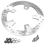Bikers Choice Drilled Brake Rotor with Hardware