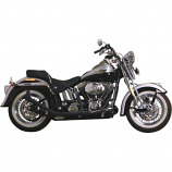Paughco 1 3/4in. Side-by-Side Upsweep Fishtail Exhaust System