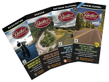 Butler Maps Pacific Pack Motorcycle Maps