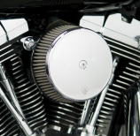 Arlen Ness Big Sucker Stage I Air Filter Kit with Cover and Stainless Steel Jacketed Filter