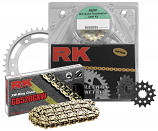 RK 530 Steel Chain/Sprocket Kits